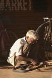 Fixing Bicycle Tyres Bidar