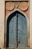 Blue Door at Bahmani Tombs