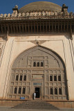 At the Entrance to Gol Gumbaz
