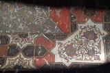 Paintings inside Bahmani Tombs at Ashtur