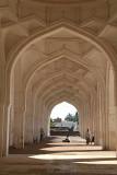Symmetry at Jama Masjid Bijapur 02