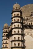 Towers of Gol Gumbaz