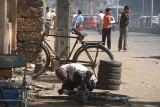 Mending Bicycles Bijapur