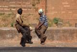 Road Workers by Bidar Fort