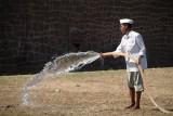Watering the Grounds Ibrahim Rouza