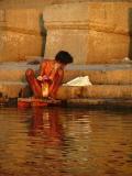Perfoming Puja