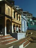 Ghat-side Buildings