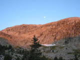 Peak above Golden Lakes