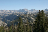 View of the Wind River Range