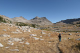 Heading up to Timico Lake