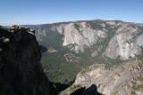 Vertigo-inspiring drops from Taft Point.