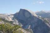 Half Dome from Yosemite Overlook.