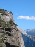 Yosemite Overlook at the top center