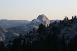 Half Dome view from Tioga Road