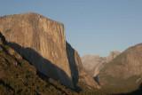 Evening sun on El Cap