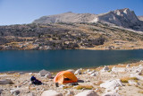 Campsite at Roosevelt Lake