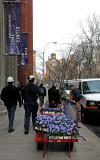 Planting Pansies at NYU