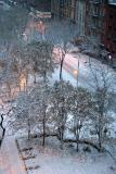 Snow Scenes - LaGuardia Place