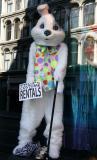Easter Bunny at NY Costume Company