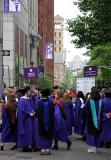 NYU Graduation - Procession Assembly