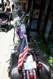 Sidewalk Harley