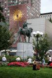 George Washington on His Horse