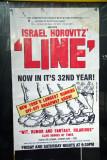 Israel Horowitz's 'Line' Poster - 13th Street Theatre