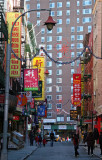 Health & Beauty Street - East View toward the Bowery