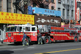 NYCs Finest and a Chinatown Fire Truck