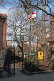St Luke's Church, School & Garden - West Greenwich Village NYC