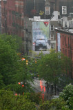 Rainy Day at LaGuardia Place & West Houston Street