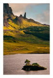 The Old Man of Storr  from Loch Fada