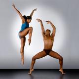 Aisha Mitchell and Anthony Burrell