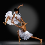 Aisha Mitchell and Antonio Douthit