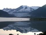 Mendhall glacier in Juneau, Alaska
