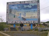 At last in Inuvik, NWT