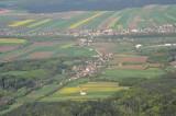 Blick von Ofenbach über Lanzenkirchen nach Föhrenau