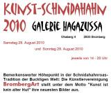 Kunst - Schnidahahn, Galerie Hagazussa, August 2010
