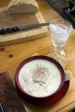 Avgolemono (Greek Lemon, Chicken and Orzo Soup)