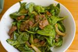Beef & Spinach Stir Fry