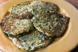 Zucchini Omelet Fritters