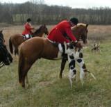 Hunting at Valley Green Farm December 6th
