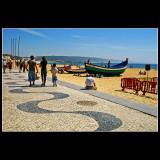 ... walking in Nazare - Portugal ...