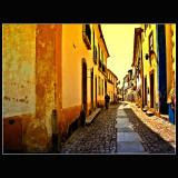 ...Walking in Obidos...