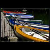... colorful boats ...