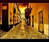 08.11.2005 ... Some rain in Óbidos ...