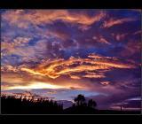 A fantastic sky ...