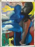 Abstract Woman by Atem Aleu