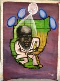 John Garang by Peter Makuol Maketh