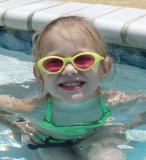 Gkids in my pool again